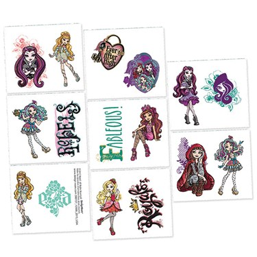Ever After High Tattoos (16)