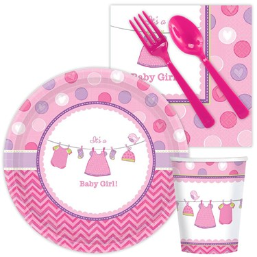 Baby Shower Girl Shower With Love Snack Pack (8)
