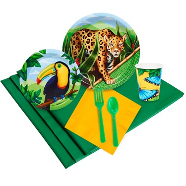 Jungle Party Pack for 16