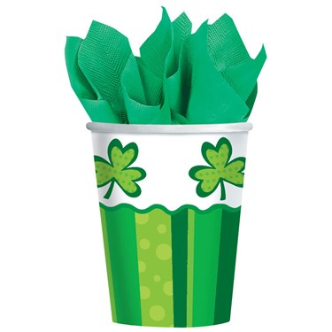 Happy St. Patrick's Day Cheer 9oz Paper Cup (50)