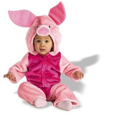 Baby Piglet Plush Bodysuit Infant / Toddler Costume