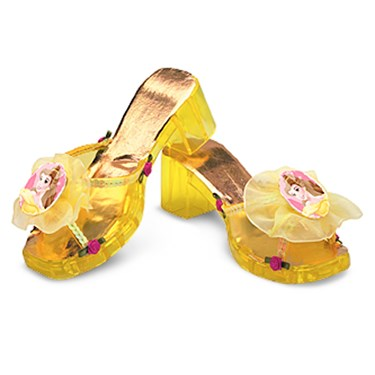 Beauty and the Beast Belle Deluxe Jelly Shoes Child