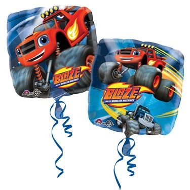 """17"""" Blaze and the Monster Machines Foil Balloon (Each)"""
