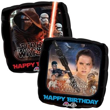 "18"" Star Wars Force Awakens Birthday Balloon"