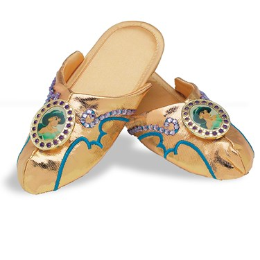 Aladdin Jasmine Deluxe Slippers Child