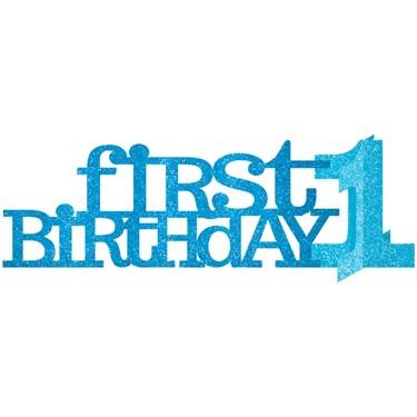 1st Birthday Boy Centerpiece