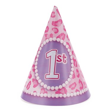 1st Birthday Diva Cone Hats