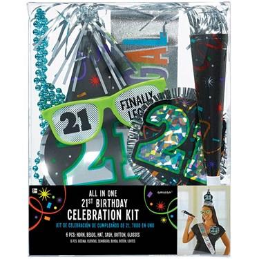 21st Birthday Accessory Kit