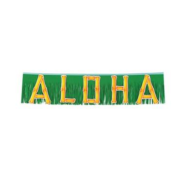 4' Aloha Fringe Banner