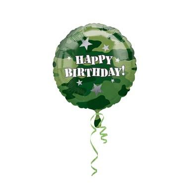 Camo Foil Balloon