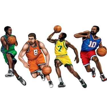 """20"""" Basketball Player Cutouts"""