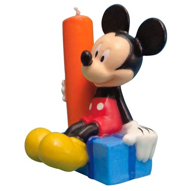 Disney Mickey's Clubhouse Molded Candle