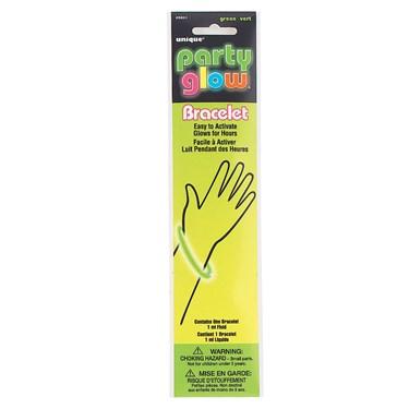"""8"""" Glow Bracelet Green"""