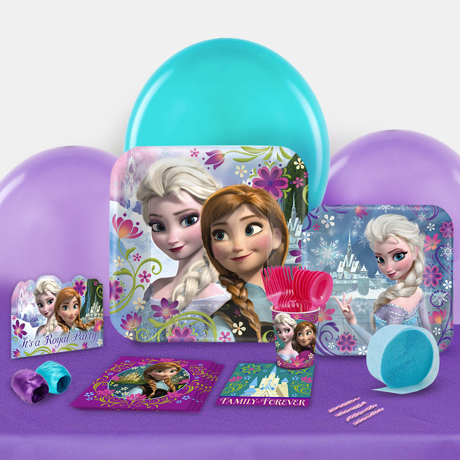 Disney Frozen Party in a Box For 8-Basic