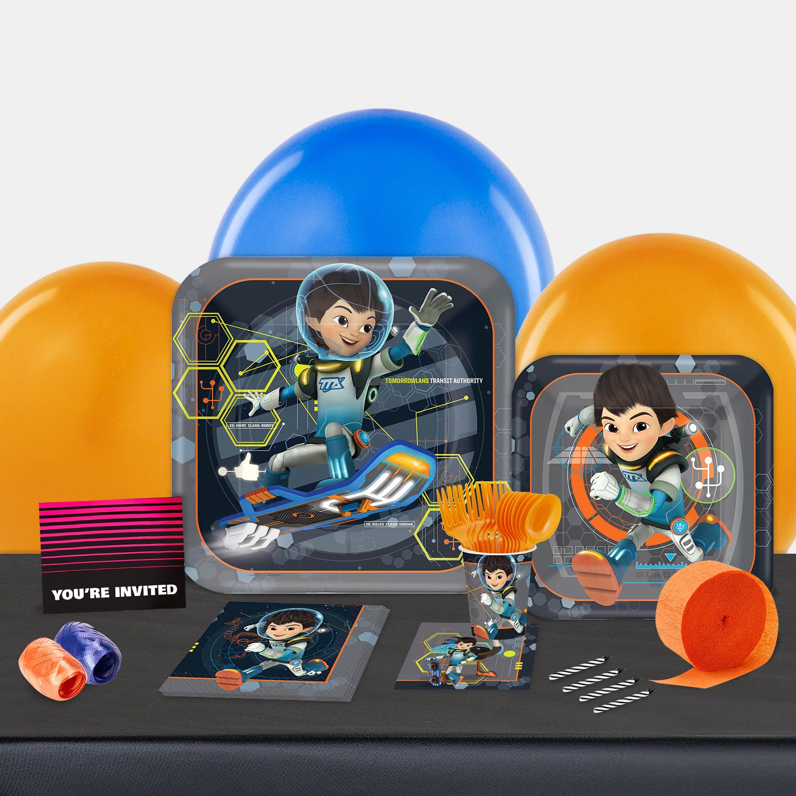 Disney Miles From Tomorrowland Party in a Box For 8-Basic