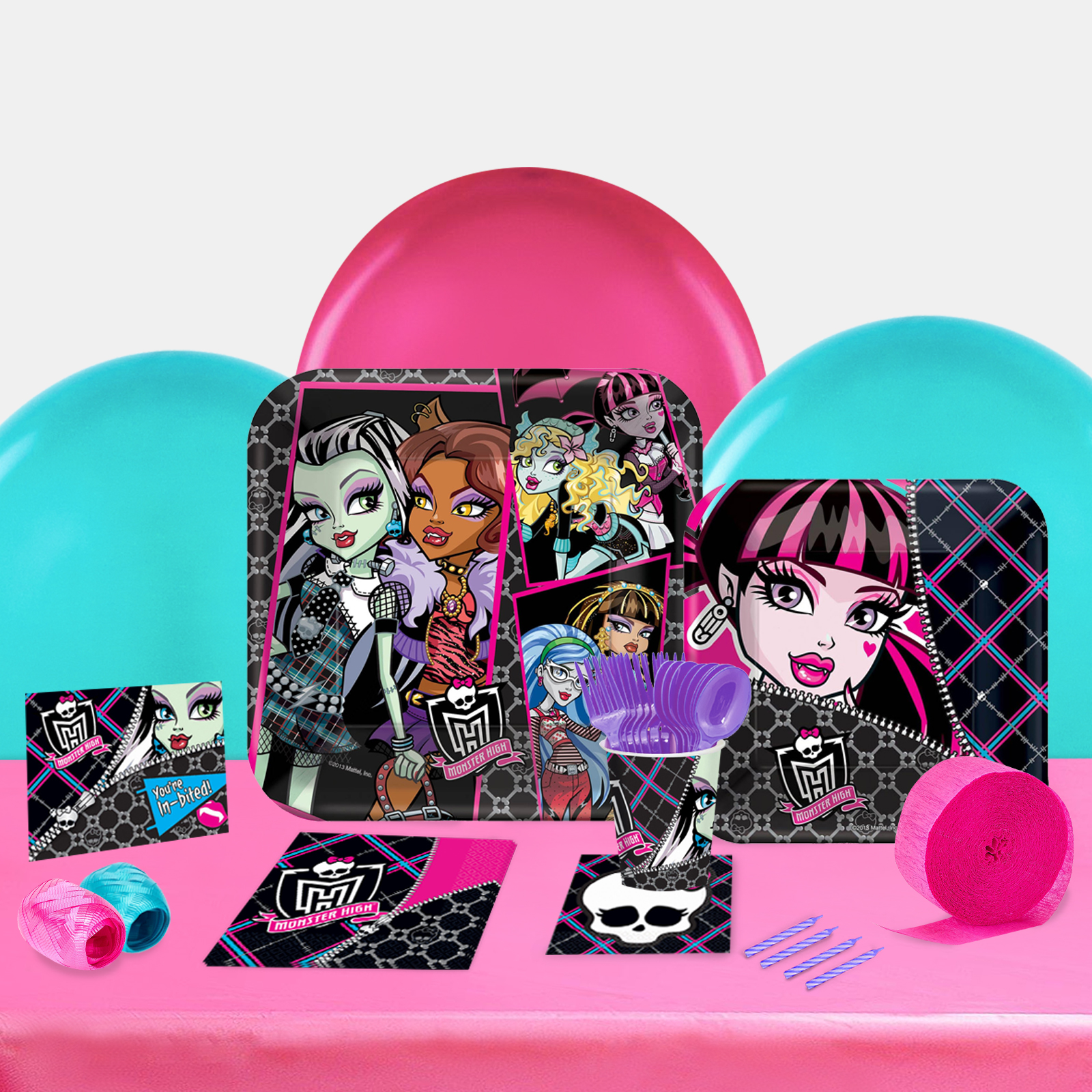 Monster High Party in a Box For 8-Basic