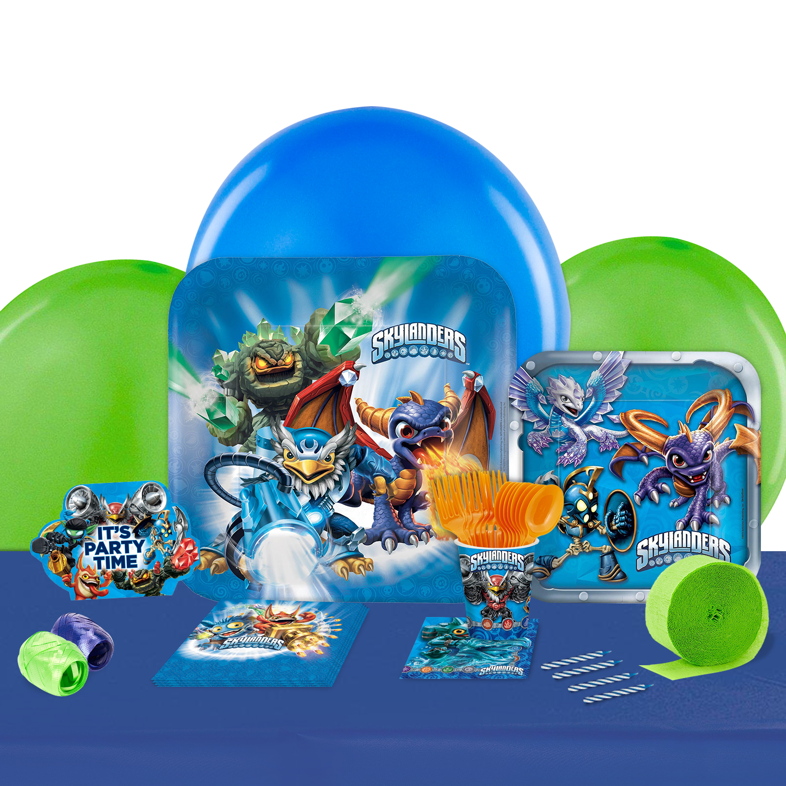 Skylanders Party in a Box For 8-Basic