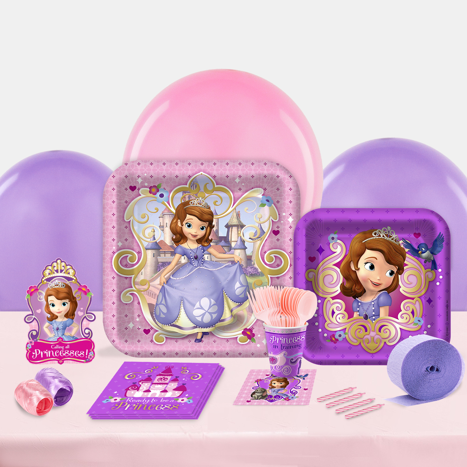 Sofia the First Party in a Box For 8-Basic