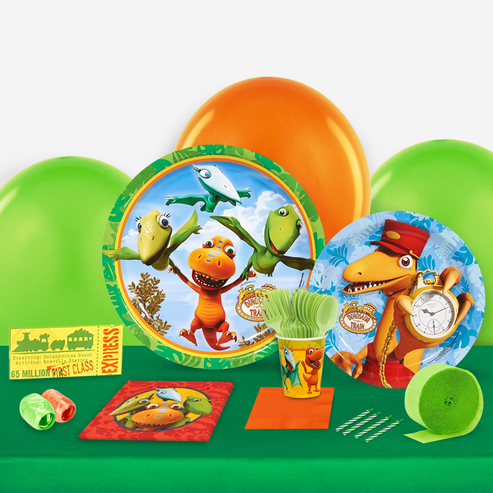 Dinosaur Train Party in a Box For 8-Basic