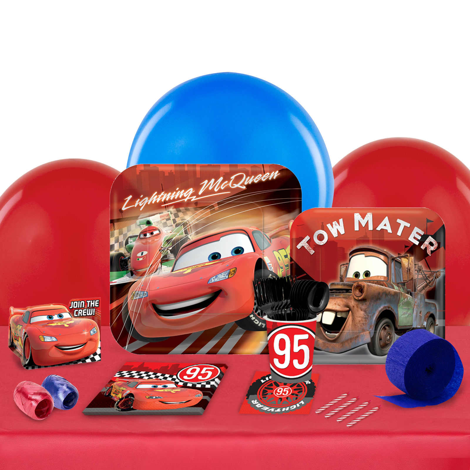 Disney Cars Dream Party in a Box For 8-Basic