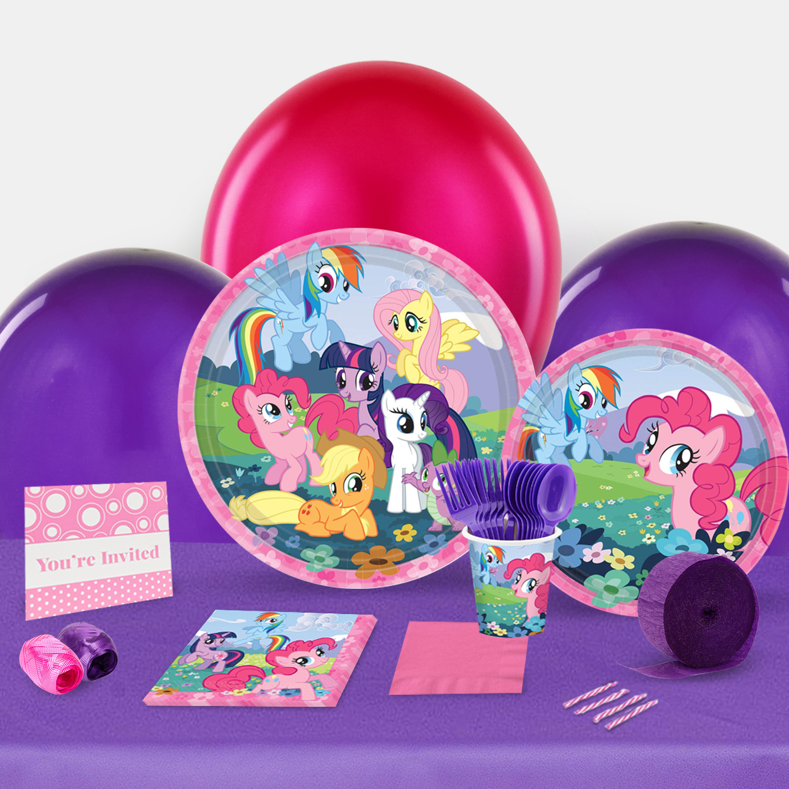 My Little Pony Friendship Magic Party in a Box For 8-Basic