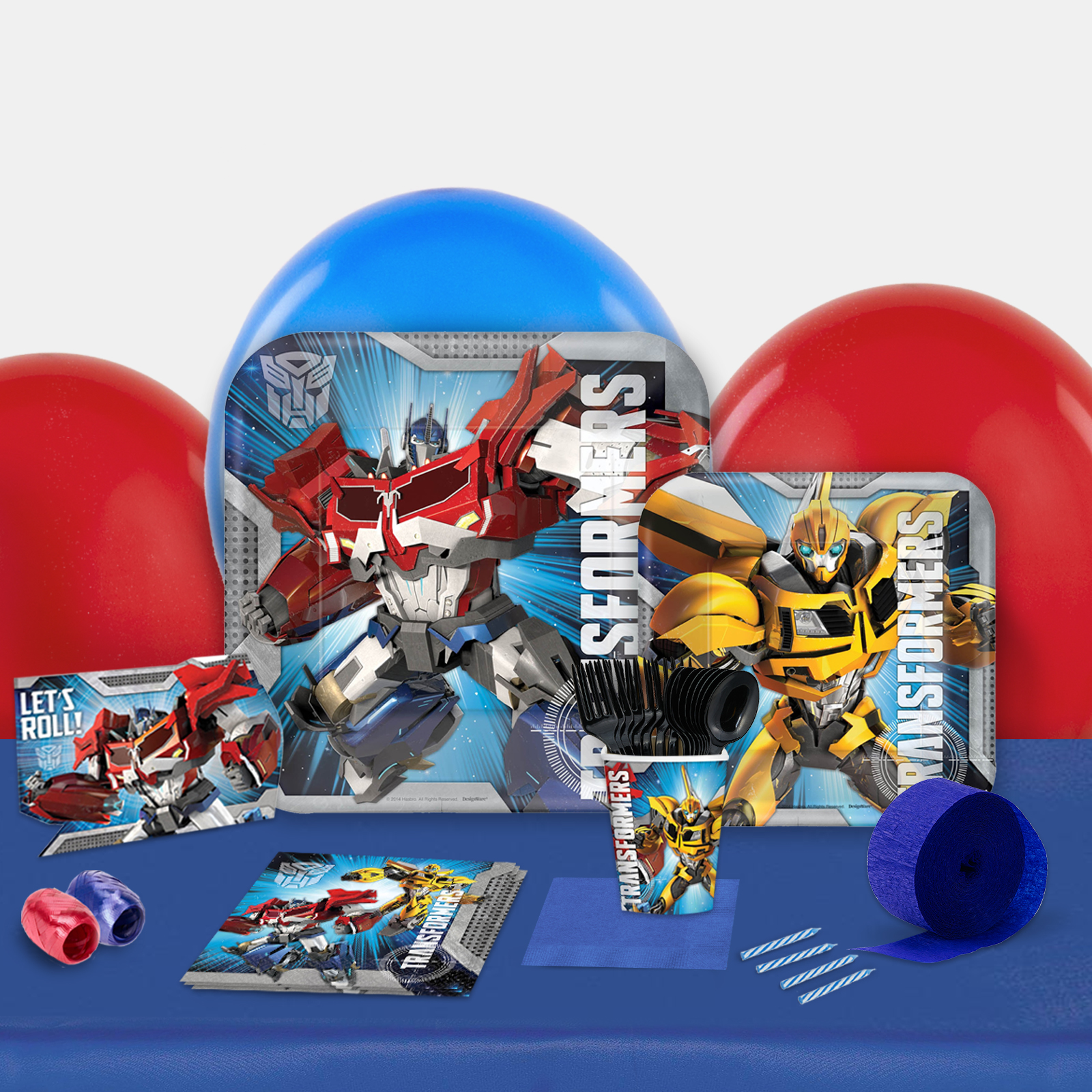 Transformers Party in a Box-Basic