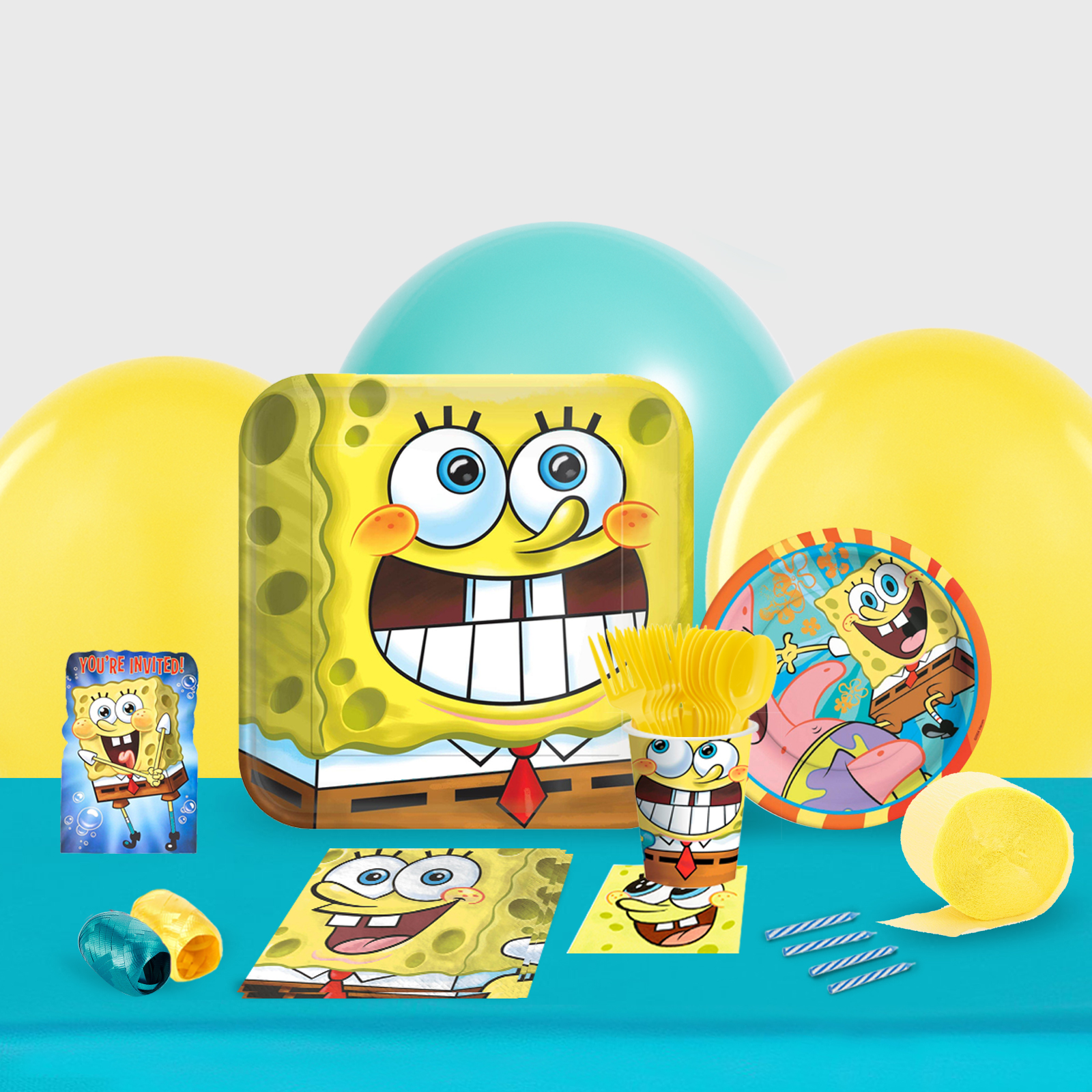 SpongeBob Classic Party in a Box-Basic