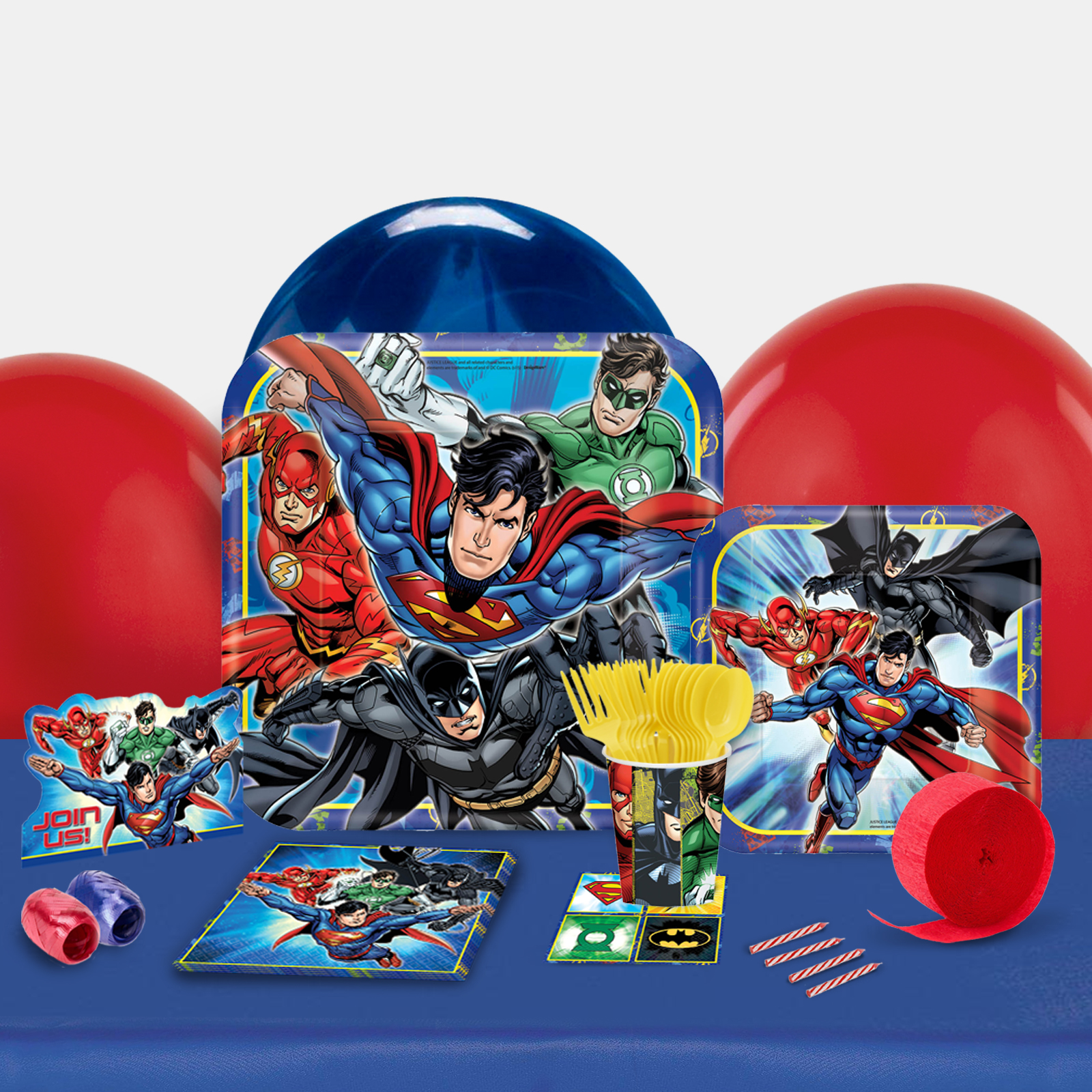 Justice League Party in a Box-Basic