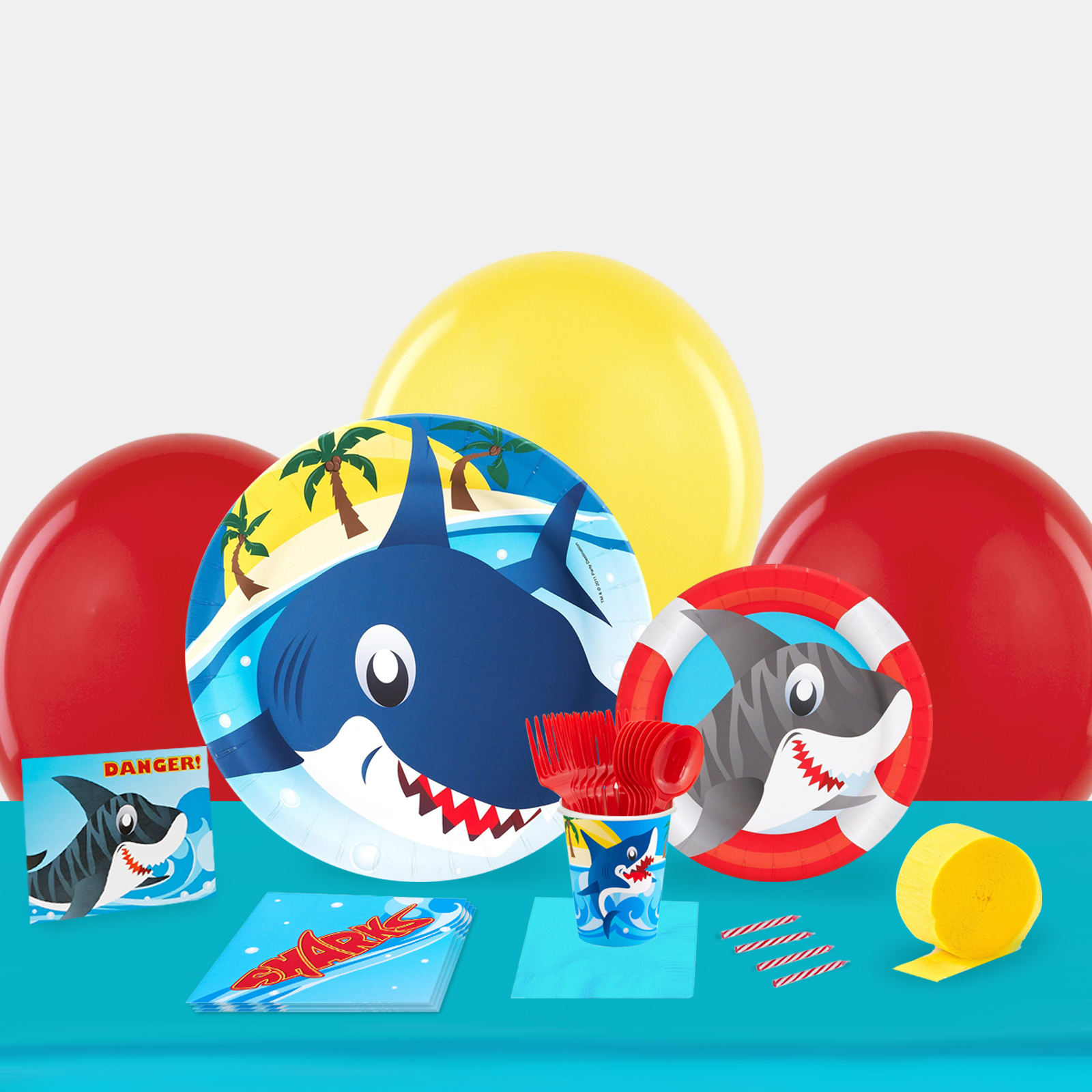 Sharks Party in a Box-Basic
