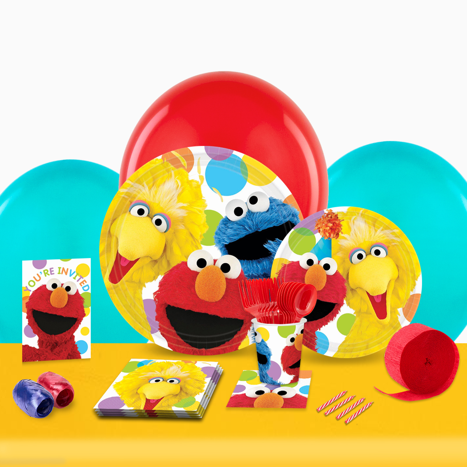 Sesame Street Party in a Box-Basic