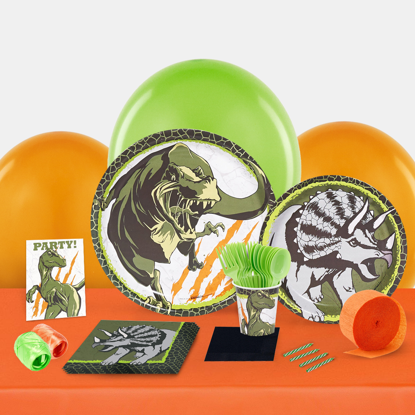 Dinosaurs Party in a Box-Basic
