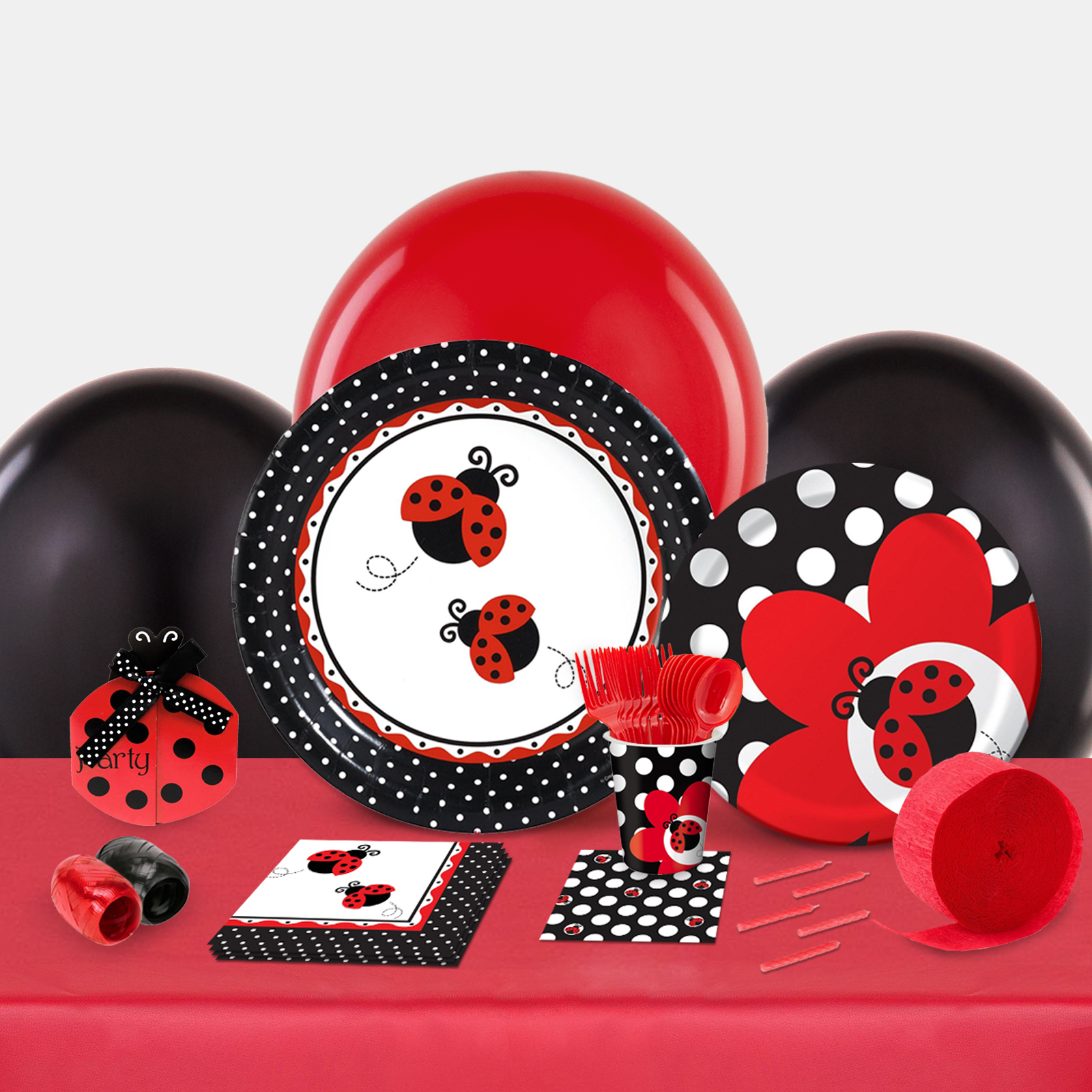 LadyBug Fancy Party in a Box-Basic