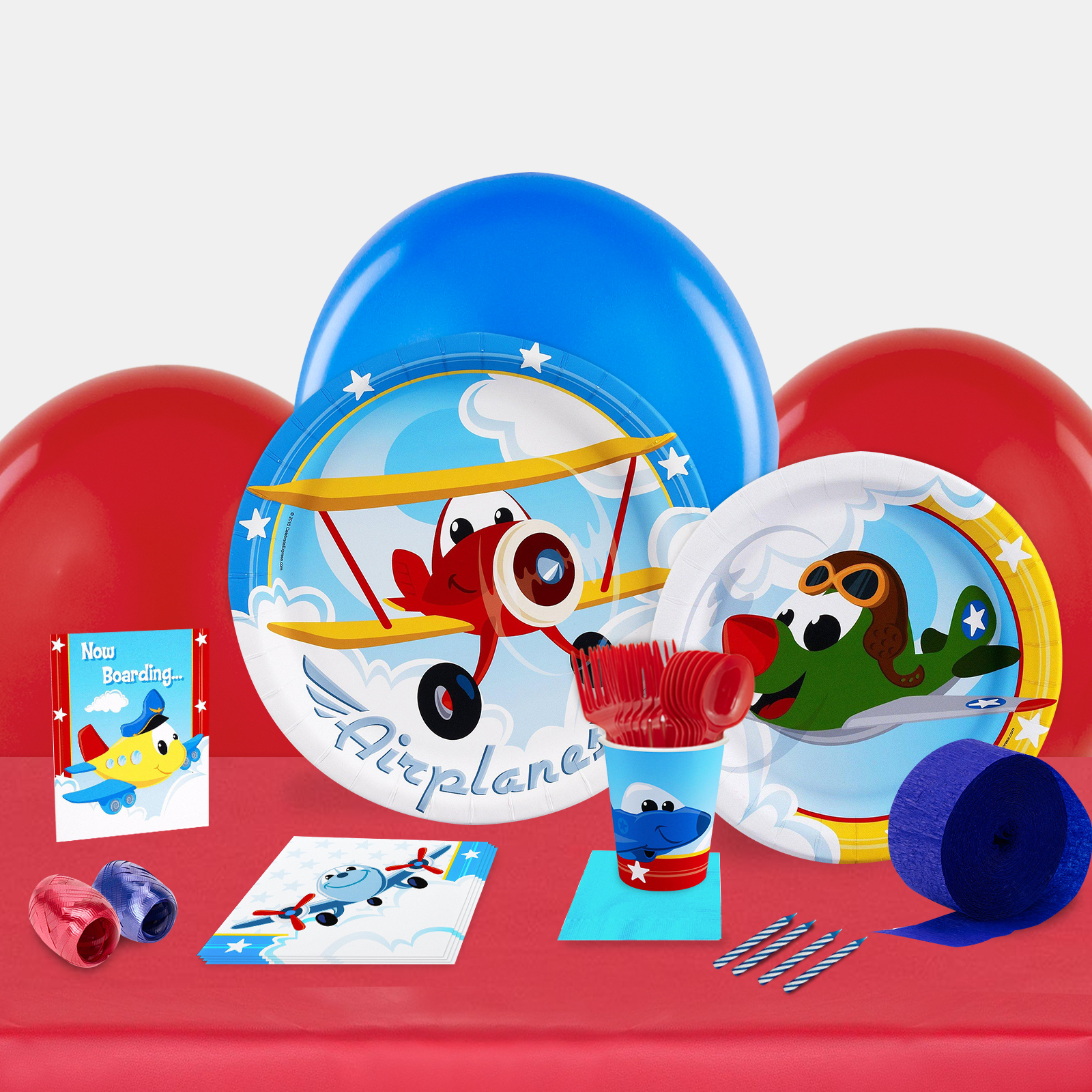 Airplane Adventure Party in a Box-Basic