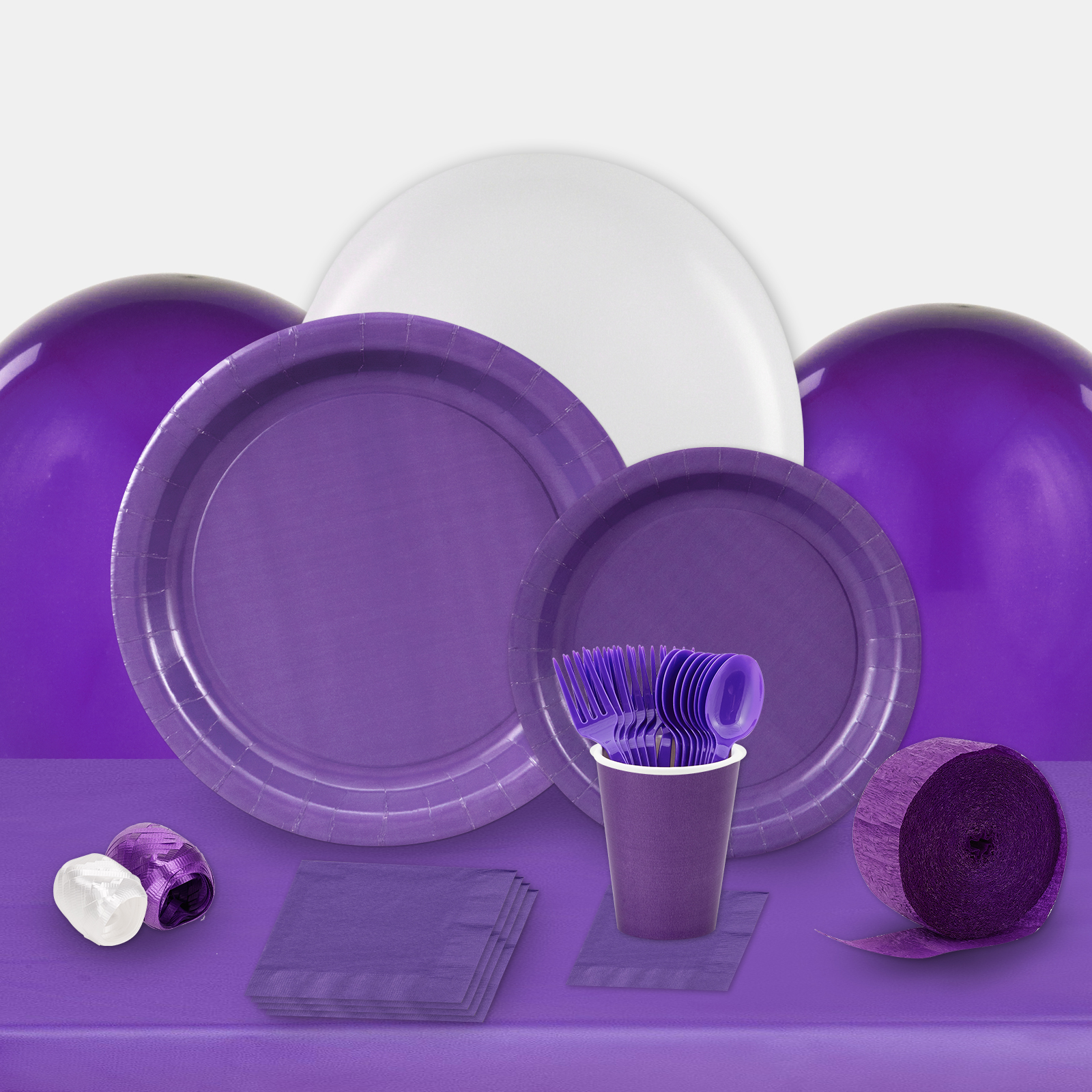 Perfect Purple Party in a Box-Basic