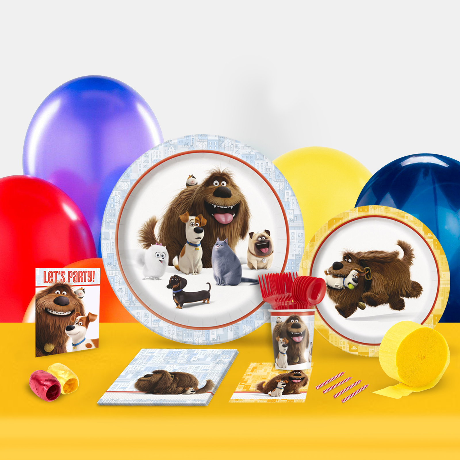 Secret Life of Pets Party in a Box for 8-Basic