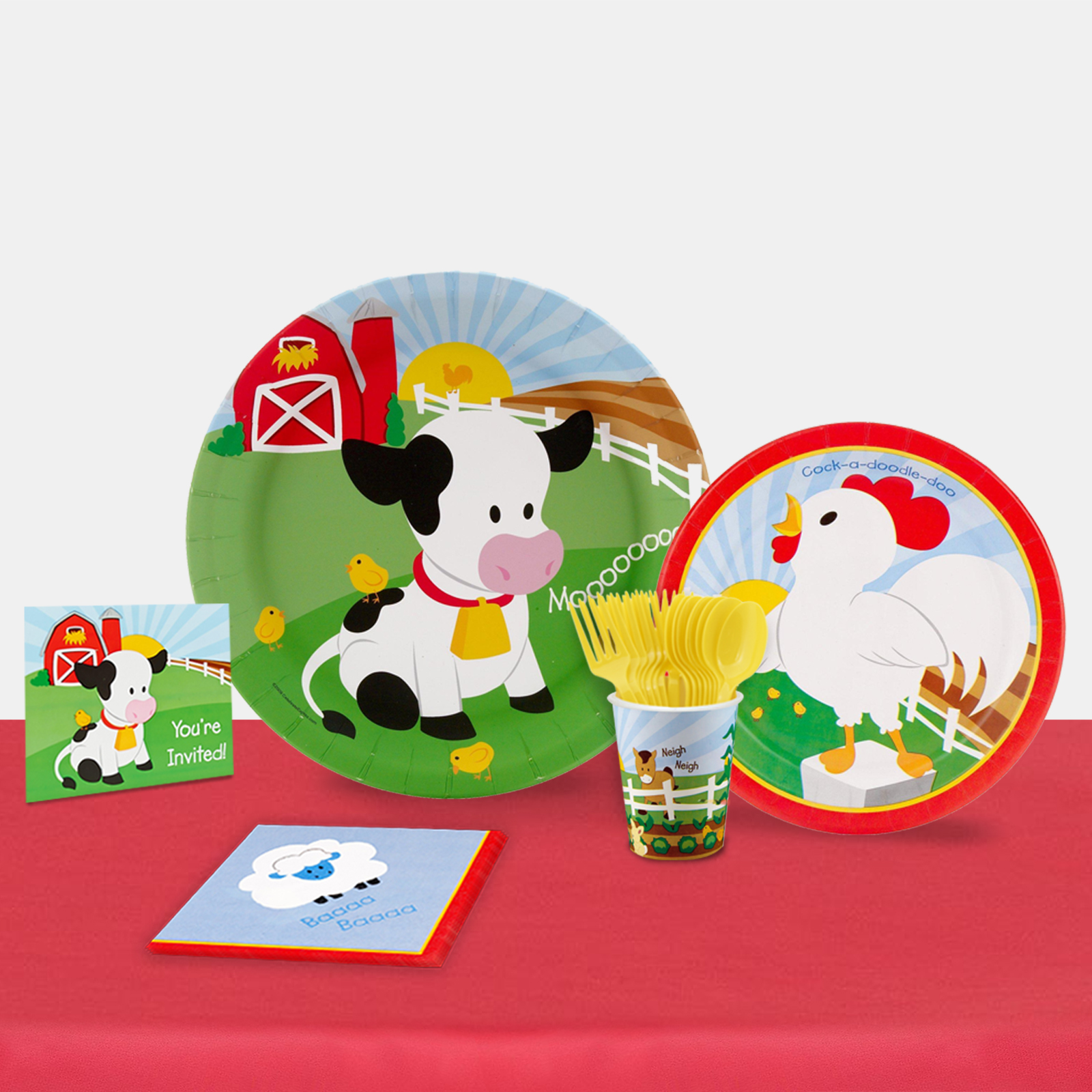 Barnyard Party in a Box for 16-Basic