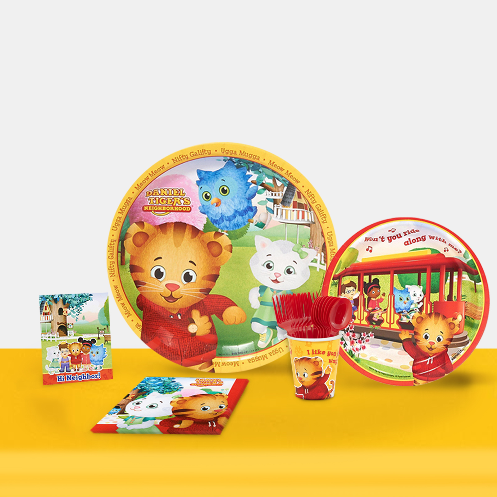 Daniel Tigers Neighborhood Party in a Box For 16-Basic