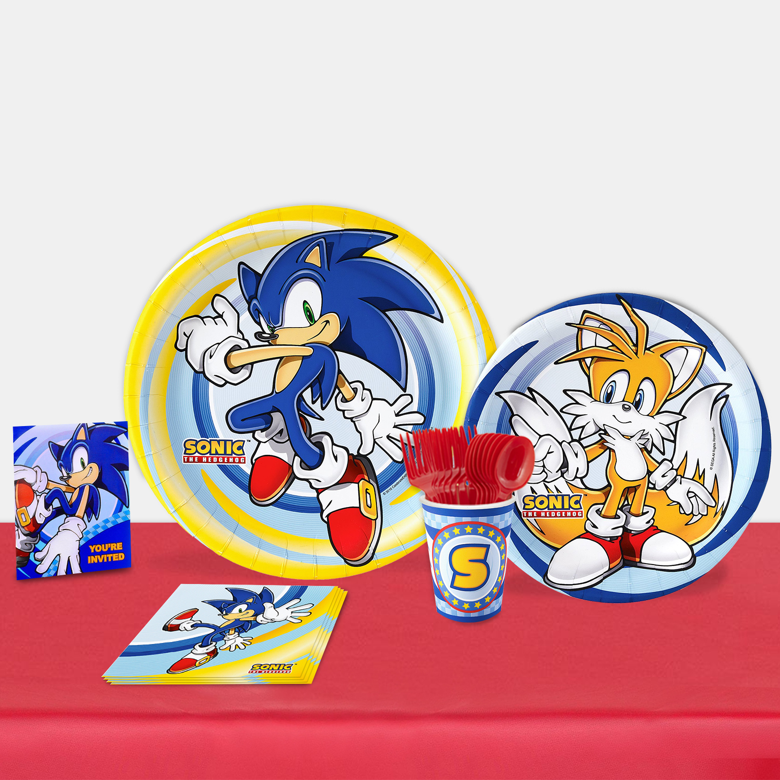 Sonic the Hedgehog Party in a Box For 16-Basic