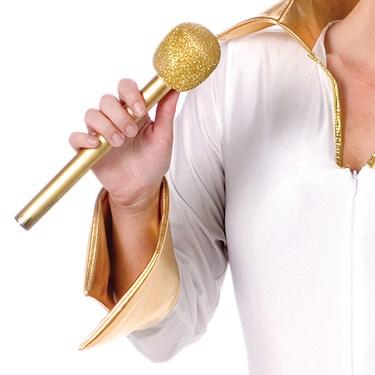Glitter Microphone (Gold)
