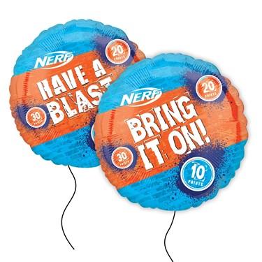 "28"" Nerf Target Jumbo Foil Balloon"