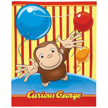 Curious George Treat Bags