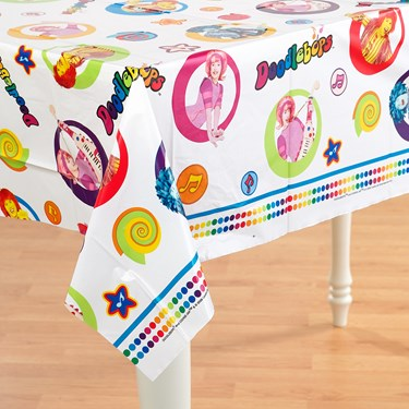 Doodlebops Plastic Tablecover