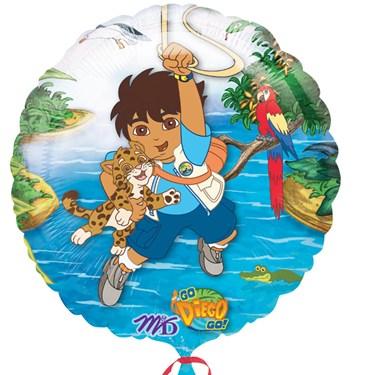 Go Diego Go Foil Balloon