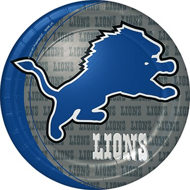 Detroit Lions Dinner Plates