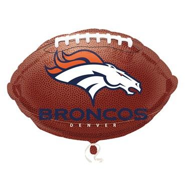 Denver Broncos Foil Balloon