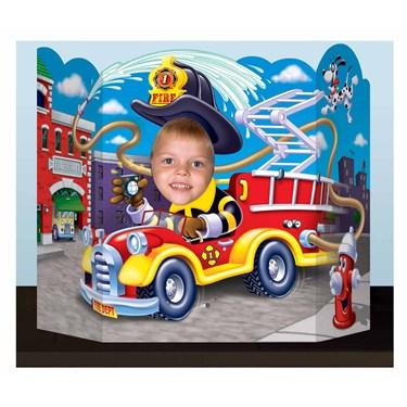Fire Trucks Photo Prop