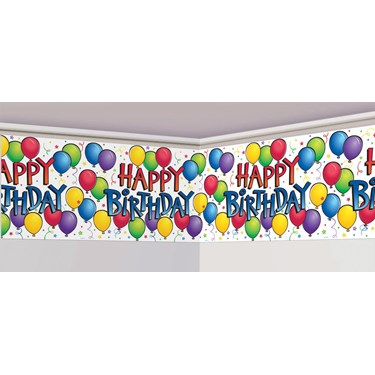 Balloon Fun Banner Roll