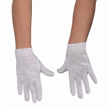 White Gloves Child