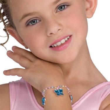 Butterfly Jeweled Bracelet