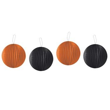 Orange and Black Lanterns (4)
